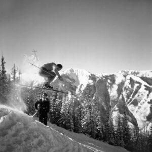 Friedl Pfeifer and Fred Iselin, Buckhorn, Aspen Mountain - Ferenc Berko