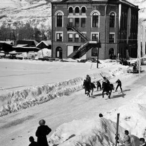 Wheeler Opera House, Winterskol Ski Joring - Ferenc Berko
