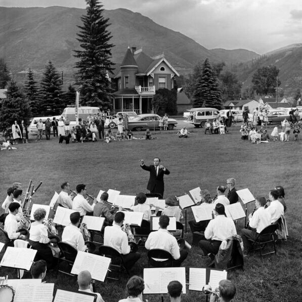 Band Concert in Paepcke Park - Ferenc Berko