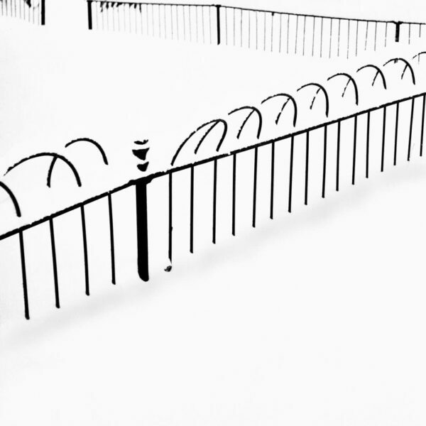 Snow Covered Fence, 1 - Ferenc Berko