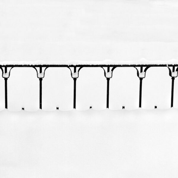 Snow Covered Fence, 2 - Ferenc Berko
