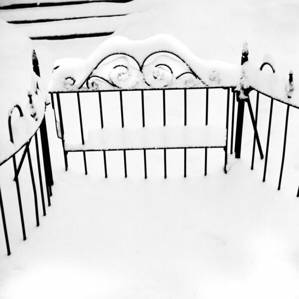 Snow Covered Fence, 3 - Ferenc Berko