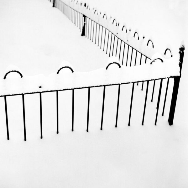 Snow Covered Fence, 4 - Ferenc Berko