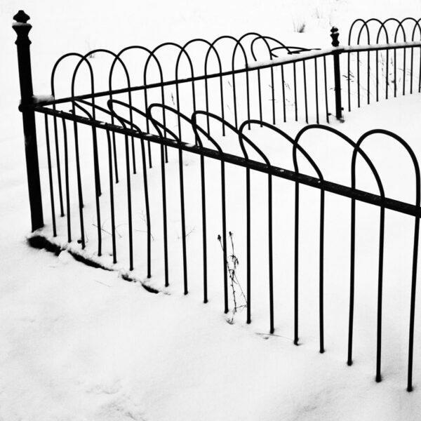 Snow Covered Fence, 5 - Ferenc Berko