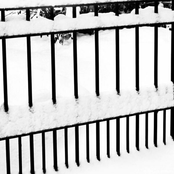 Snow Covered Fence, 6 - Ferenc Berko